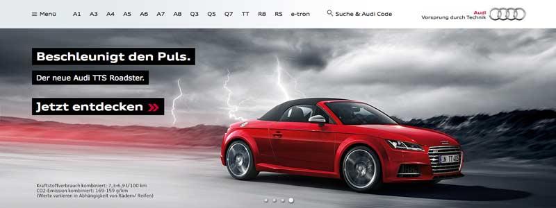 Bilderwelten Automobil: Audi