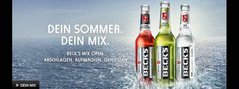 Bilderwelten Bier: Becks