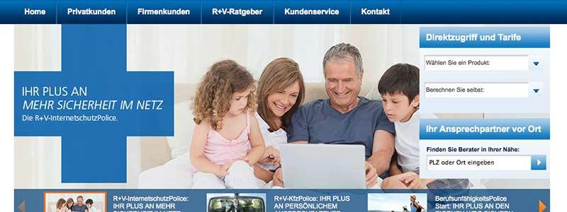 Bilderwelten Versicherung: R+V