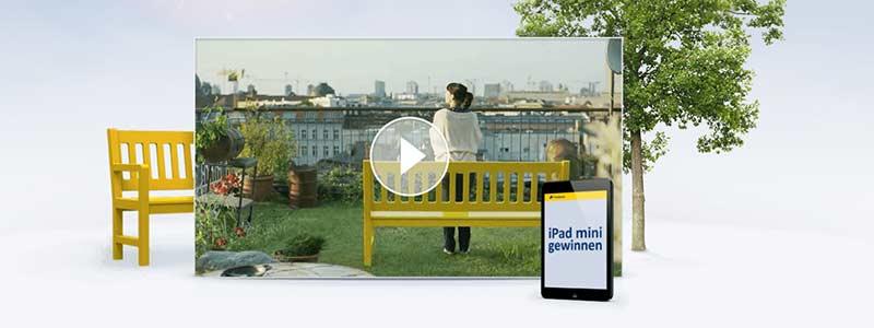 Bilderwelten Bank: Postbank
