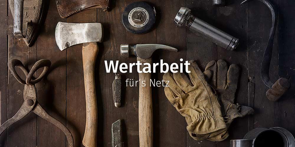 Wertarbeit: Webdesign-Pakete für Gründer