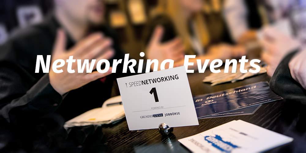 Netzwerken – die besten Events für Gründer