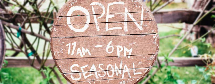 Popup-Store: Saisonal geöffnet