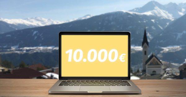 10000 Euro Wochenende planen