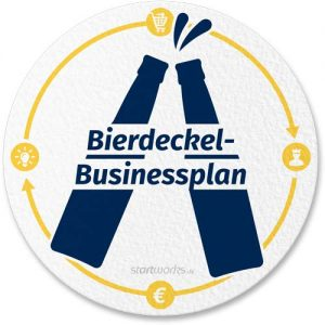 Bierdeckel-Businessplan Cover