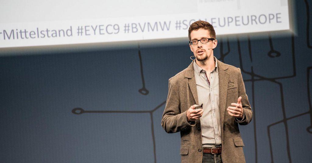 CEBIT Vortrag: Der kleinste Businessplan der Welt, Matthias Barth