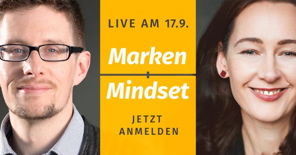 Webinar: Marken-Mindset mit Matthias Barth und Anicca Vogt