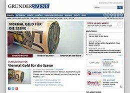 Website der Gründerszene