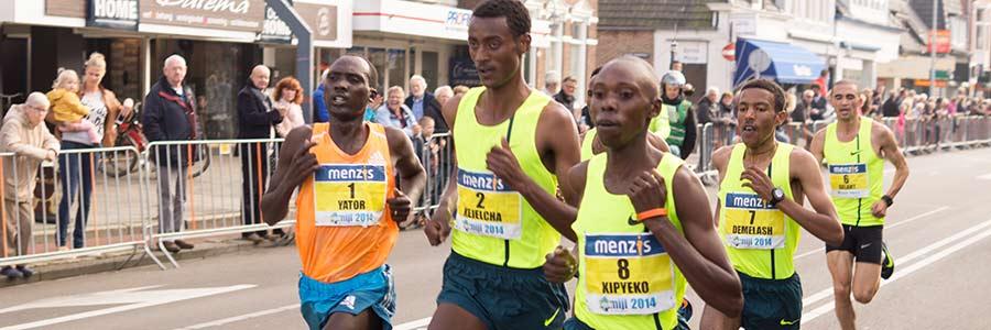 Marathon-Läufer: Konkurrenz motiviert auch