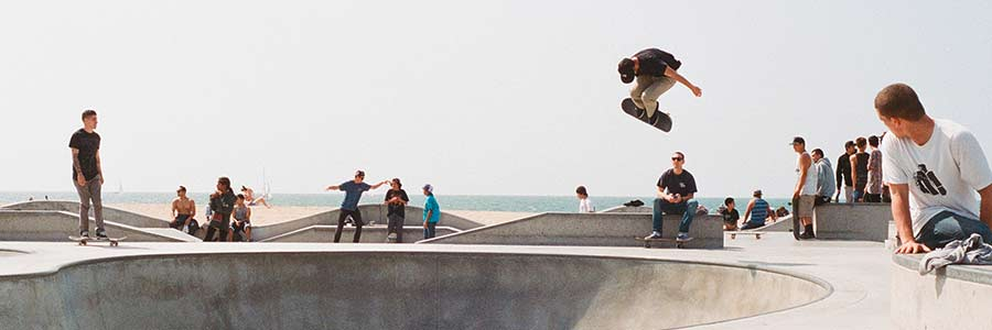 Konkurrenzvergleich unter Skateboardern