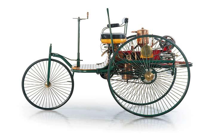 Das erste Auto der Welt: Carl Benz' Patent-Motorwagen Nummer 1