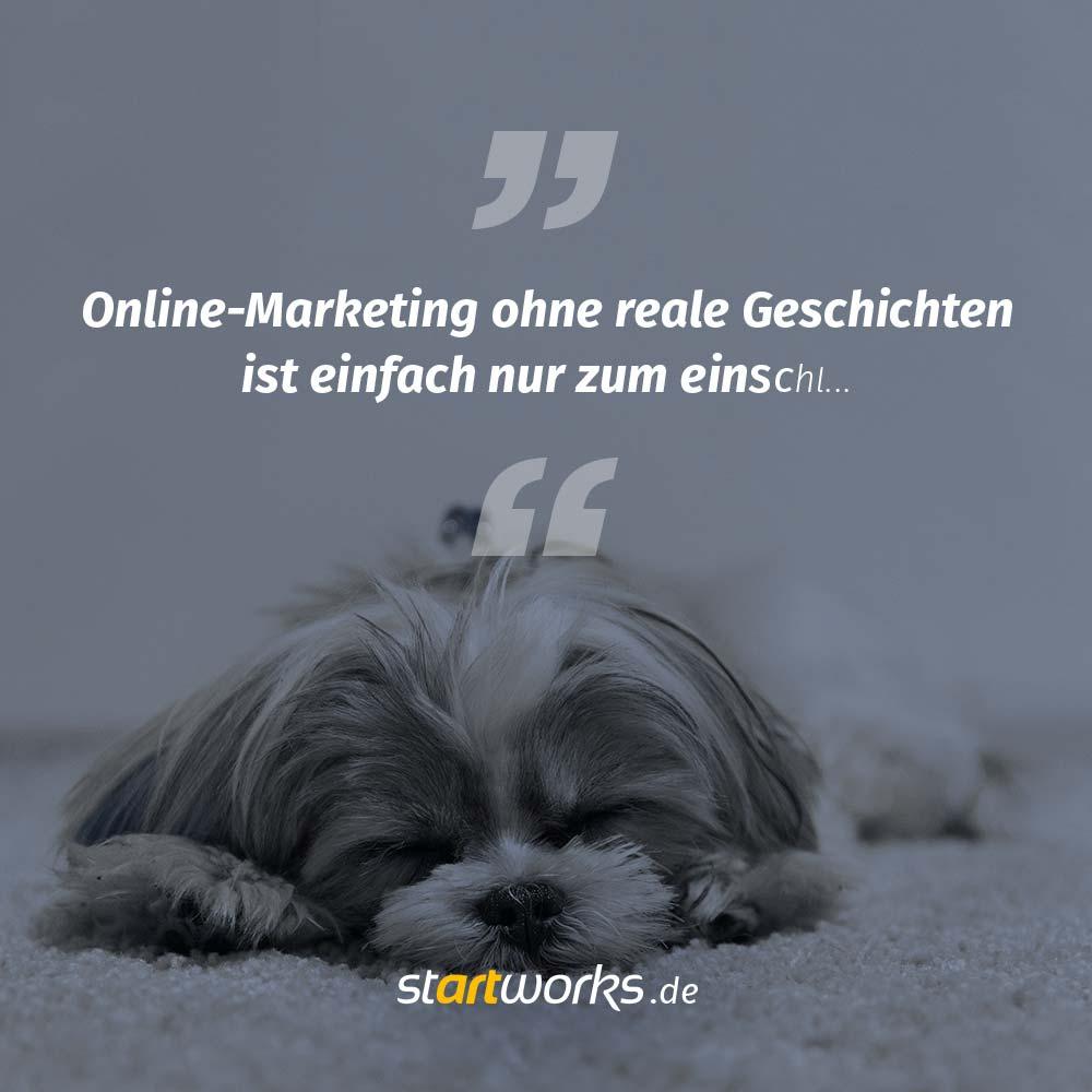 Online-Marketing ohne reale Geschichten? Unmöglich!