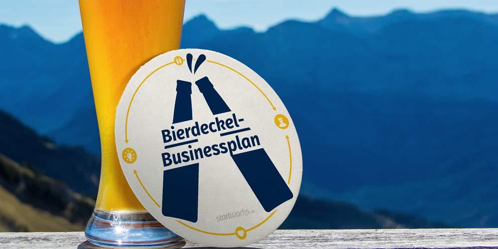 Der Bierdeckel-Businessplan – große Ideen brauchen nicht viele Worte