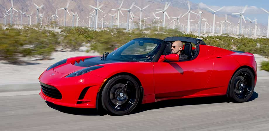 Tesla Roadster für die Early Adopter