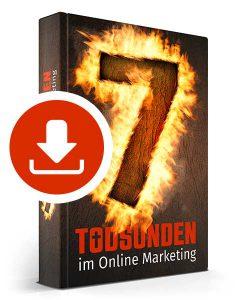 7 Todsünden im Online Marketing – Ebook downloaden