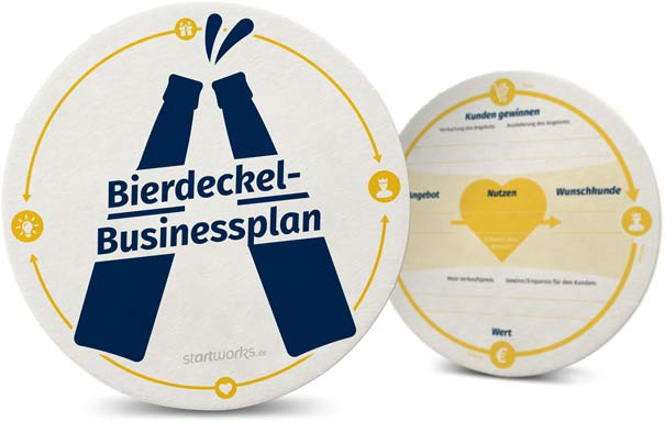 Bierdeckel Businessplan