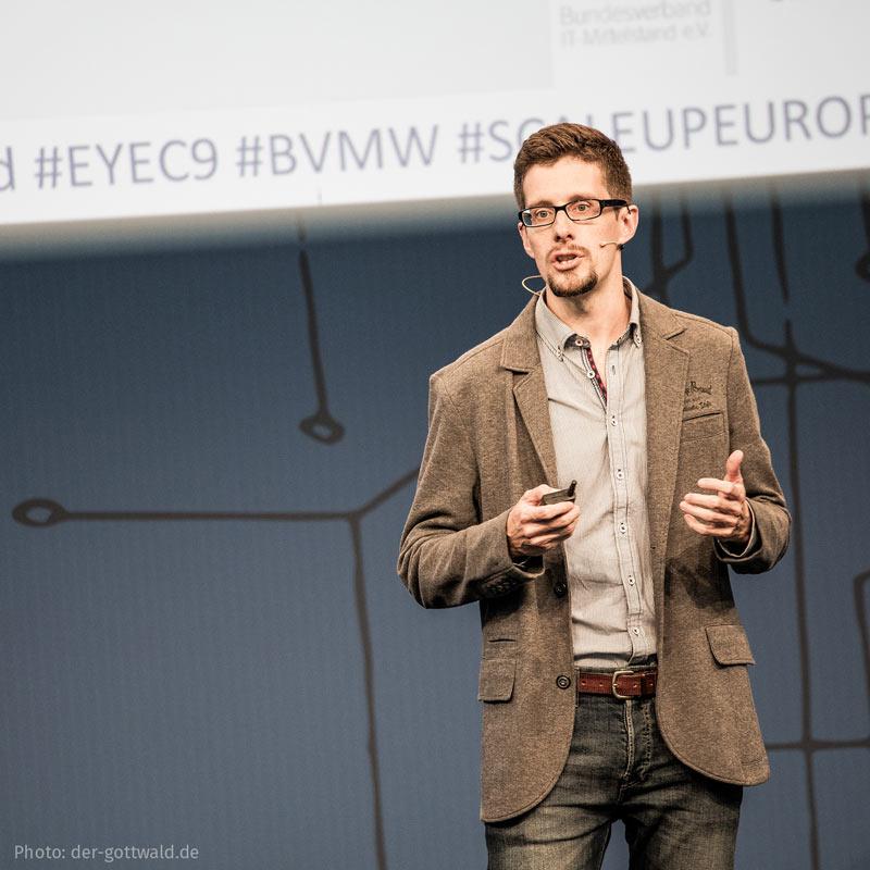 Vortrag Matthias Barth auf der CEBIT 2018