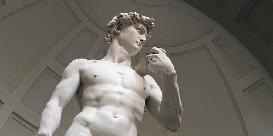 David Statue – Musterbeispiel für Positionierung als Dienstleister